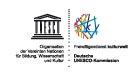 Logo von kulturweit zeigt Text, dass es ein Freiwilligenprogramm des Auswärtigen Amts mit der deutschen Unesco Kommission ist