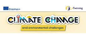 Logo eTwinning-Jahresthema Klimawandel