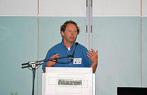 Stefan Schaaf hält seine Rede