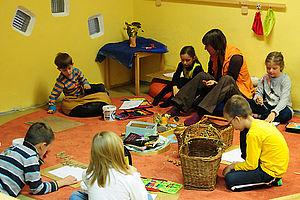 Gruppenarbeit in der Schule