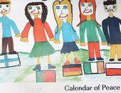 Kinder haben Kinder gemalt