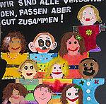 Kinderbild gemalt