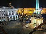 Der Majdan bei Nacht