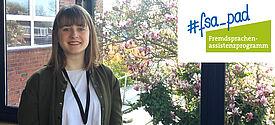 Lehramtsstudentin Emma Sanders in Grossbritannien