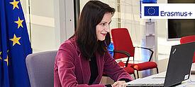 EU Kommissarin Mariya Gabriel äußerte spricht über Erasmus+ Programm ab 2021