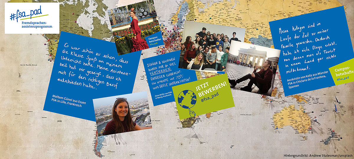 FSA-Programm für Fremdsprachenassistenz