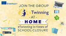 Titelbild Gruppe eTwinning at Home