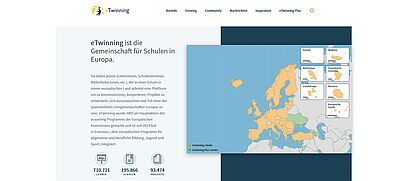 Screenshot etwinning.net