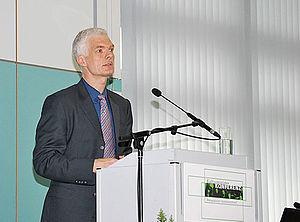 Andreas Schleicher am Rednerpult