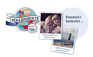 Collage aus Fotos und dem Logo der ErasmusDays 2020