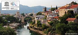 Foto der Stadt Mostar in Bosnien-Herzegowina