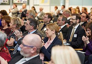 Zuhörer im Plenum