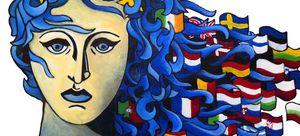 Motiv im 64. Europäischen Wettbewerb