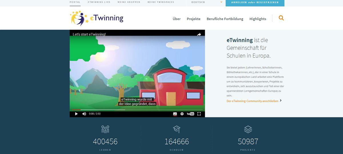 Relaunch des eTwinning-Portals