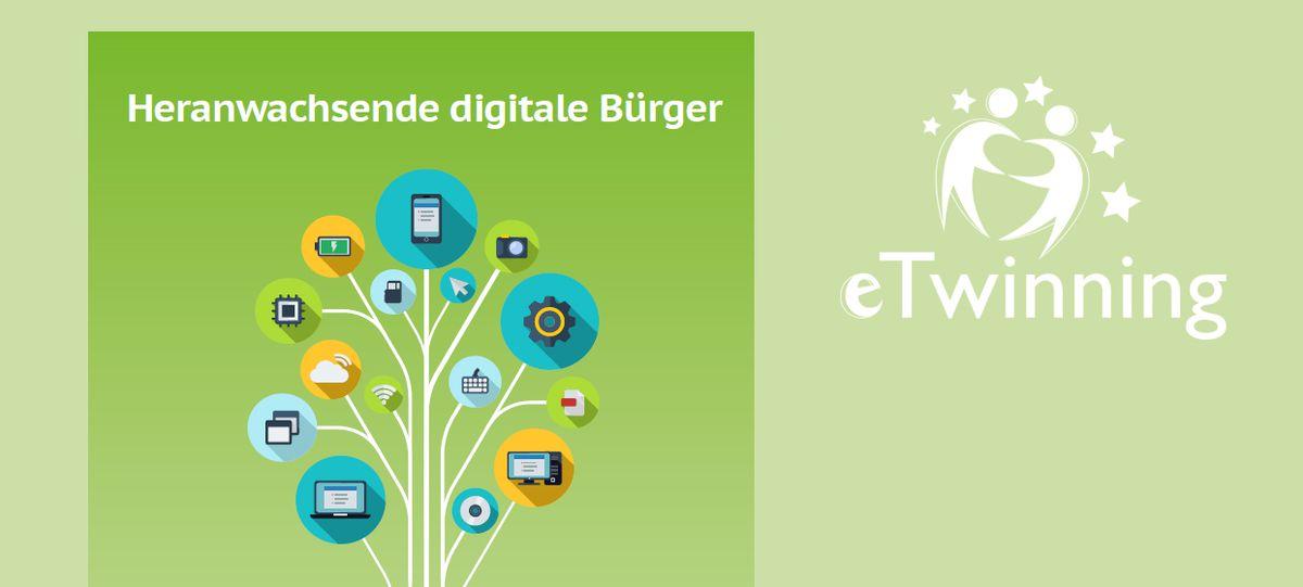 Cover eTwinning-Jahrbuch 2016