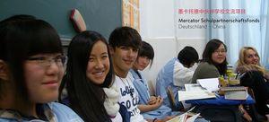 Foto von Schülerinnen und Schülern