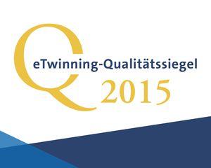 Logo des eTwinning-Qualitätssiegels
