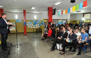 Redner und Publikum