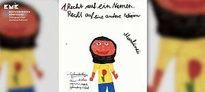 Kinderzeichnung zu Menschenrechten