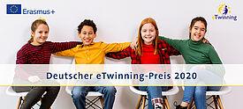 Schülerinnen und Schüler freuen sich über Deutschen eTwinning Preis - Symbolfoto