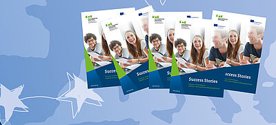 Erasmus+ Success Stories Broschüre
