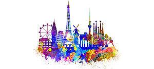 Logo 65. Europäischer Wettbewerb