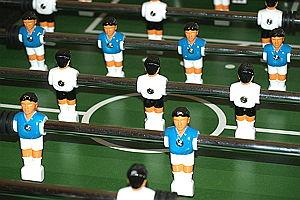 Fußball-Kickertisch