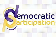 """Logo zur eTwinning-Frühlingskampagne """"Democratic Participation"""""""