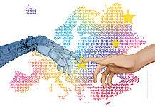 Plakatmotiv des 68. Europäischen Wettbewerbs