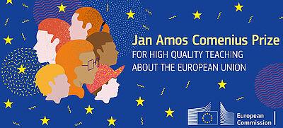 Logo des neuen Jan-Amos-Comenius-Preis