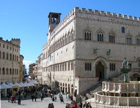 Stadtansicht Perugia
